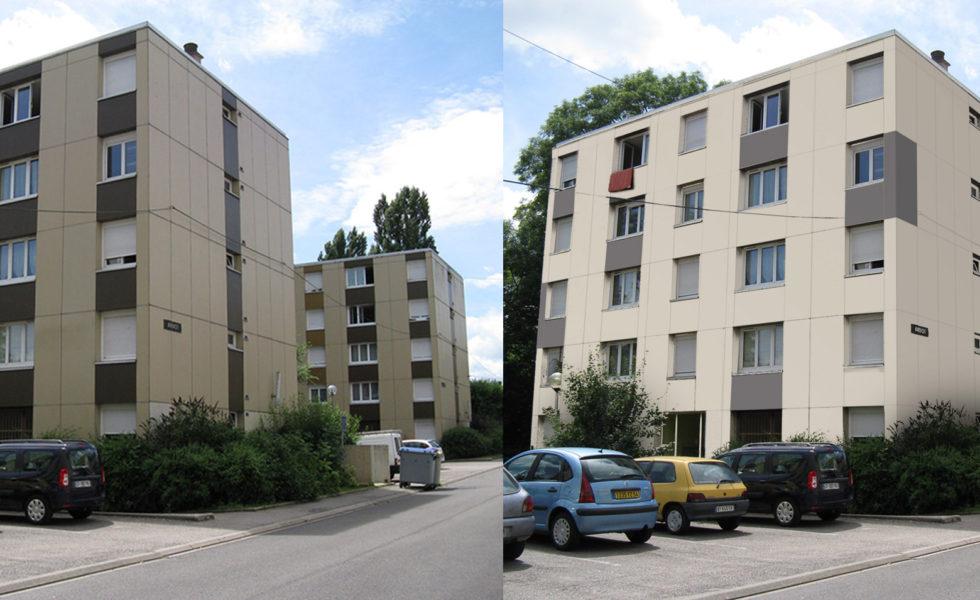 Réhabilitation de 506 logements