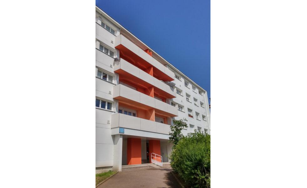 Immeuble Blériot à Champigneules