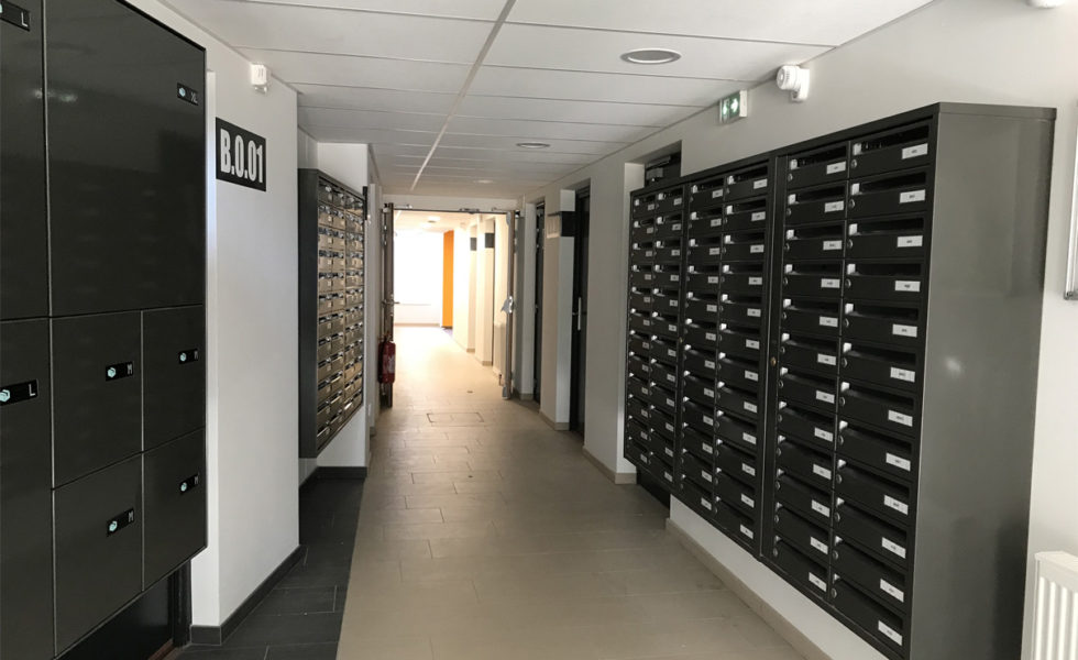 SLH 120 Vue intérieure couloir rdc