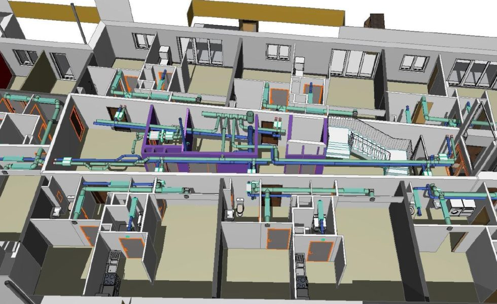 Plan de ventilation 3D Solatium